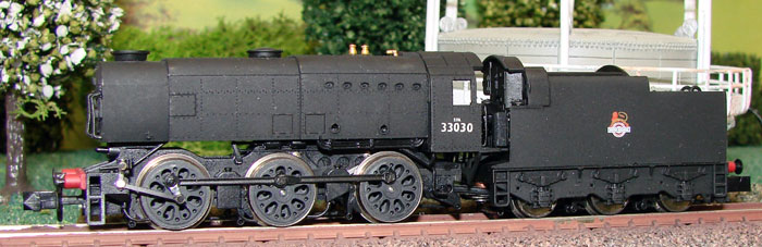 Dapol ND076 : BR (S) Class Q1 0-6-0 steam tender loco (early crest): choice  of numbers